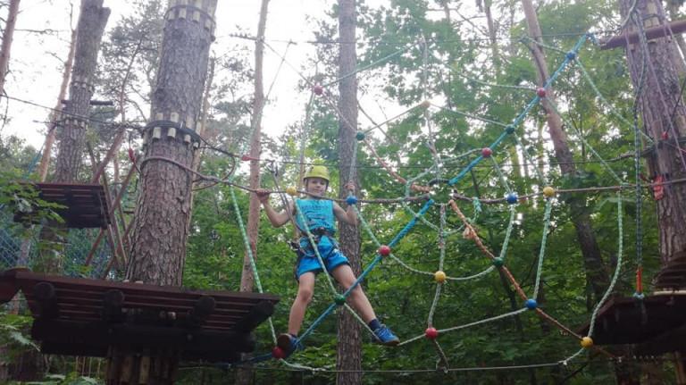 Park Linowy w Kielcach – wspinaczka dla każdego