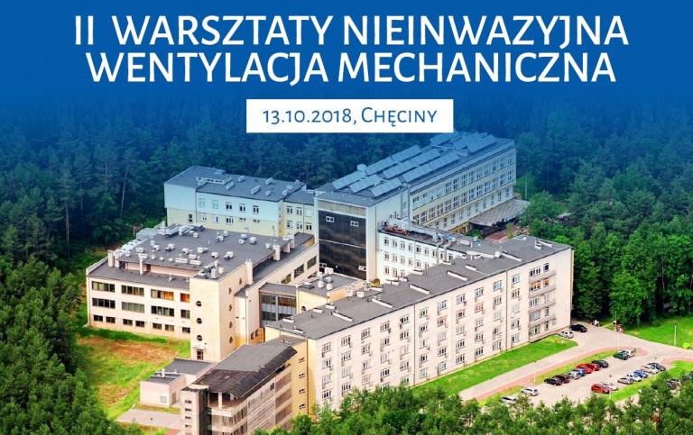 II Warsztaty z Wentylacji Nieinwazyjnej Pacjentów Pulmonologicznych
