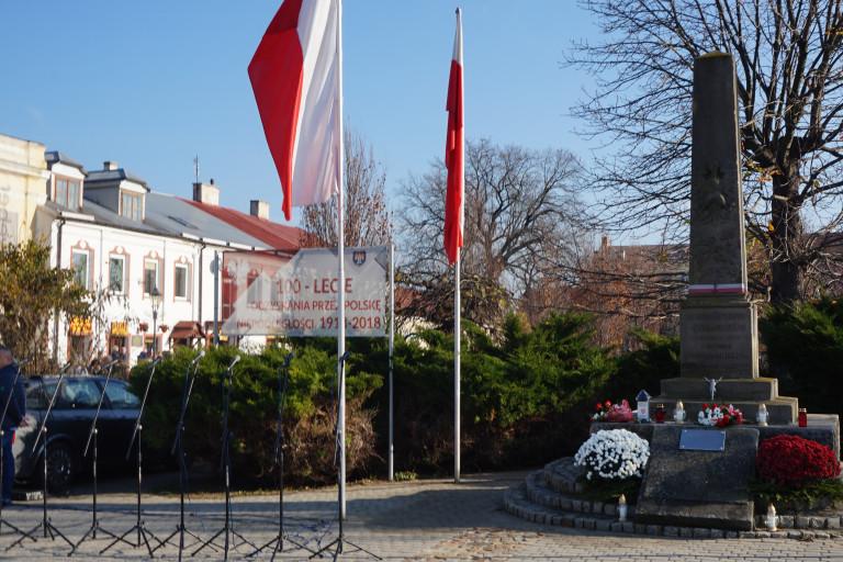 Obchody w 100. rocznicę niepodległości w Opatowie