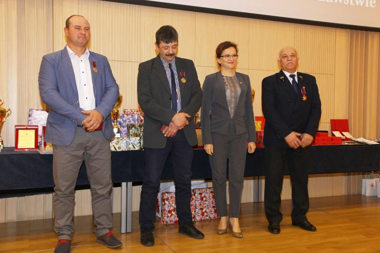 Świętokrzyscy krwiodawcy uhonorowani