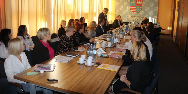 Spotkanie z Komisją Europejską