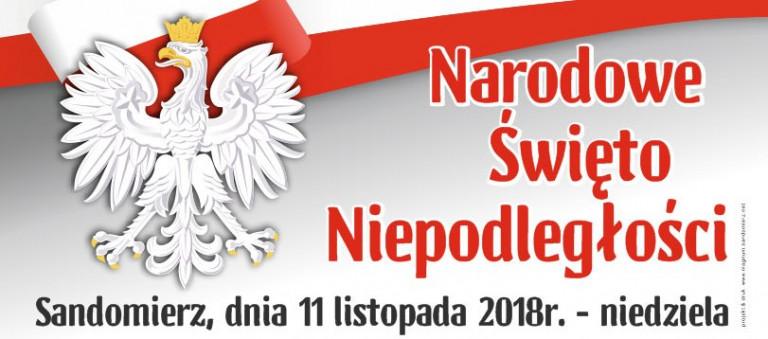 Narodowe Święto Niepodległości w Sandomierzu