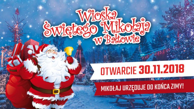 Mikołaj zawita do Bałtowa