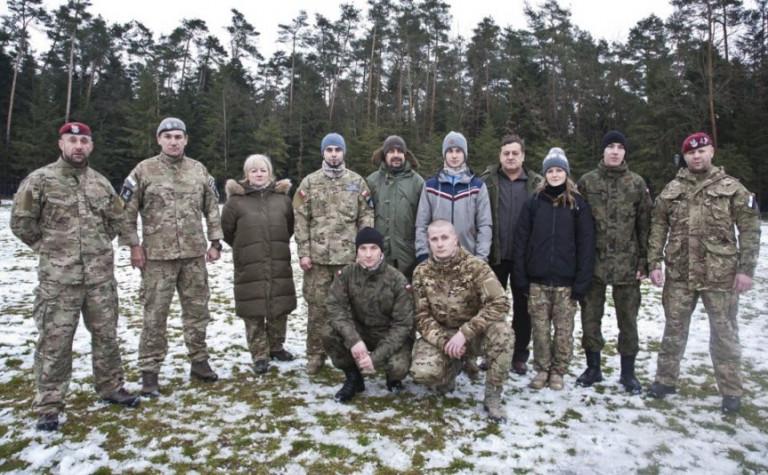 Młodzież z Opatowa pod okiem Fundacji Grom Combat