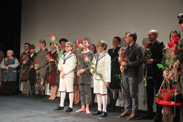 """Spektakl """"Widnokrąg"""" uświetnił jubileusz kieleckiego teatru"""