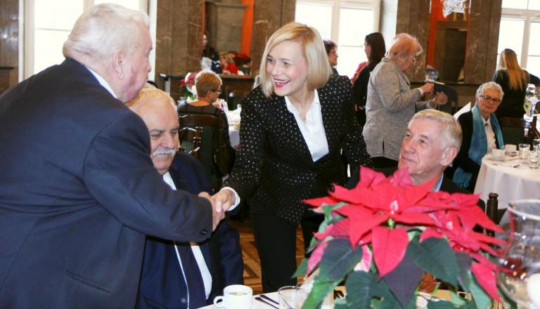 Noworoczne spotkanie Zarządu Województwa z seniorami