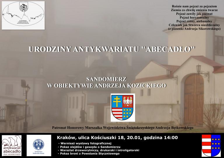 Wystawa Sandomierzanina w Krakowie