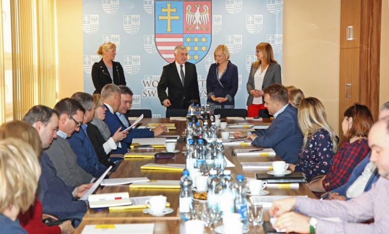 O funduszach unijnych na spotkaniu z samorządowcami