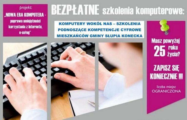 Komputerowe kursy dla mieszkańców Słupi