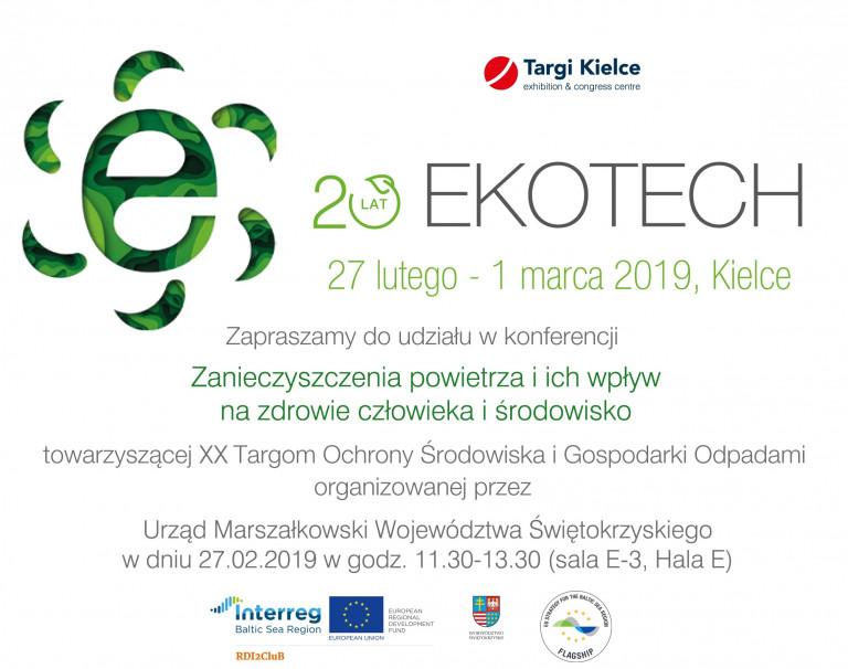 Ekotech 2019 Zaproszenie Konferencja Pl