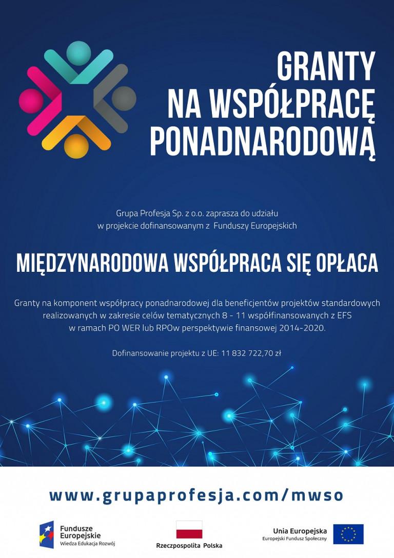 Plakat Międzynarodowa Współpraca