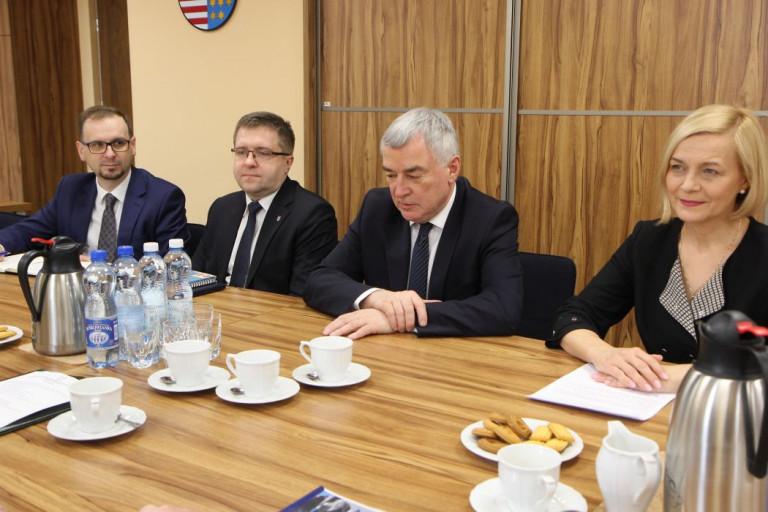 Spotkanie Z Przedstawicielami Forum Gospodarczego (1)