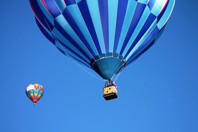 balon na podgrzane powietrze
