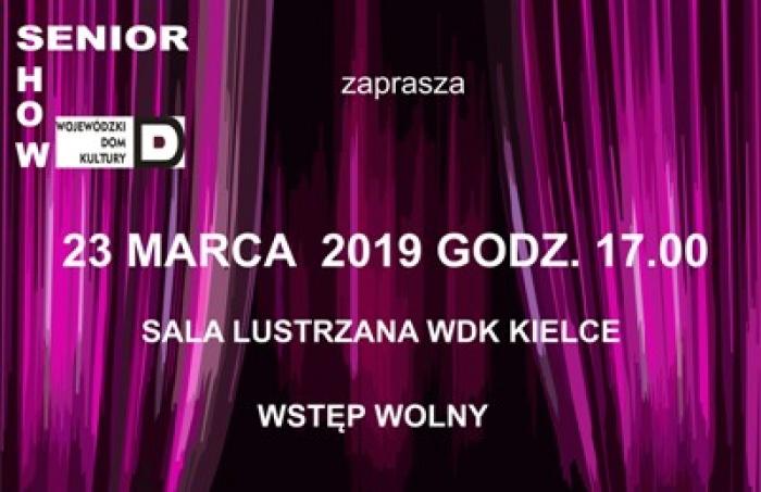 """Kolejny """"Senior Show"""" już 23 marca"""