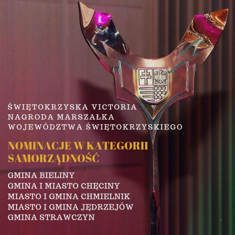 Świętokrzyska Victoria – nominacje w kategorii Samorządność