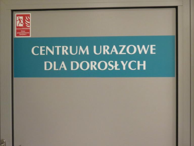 Centrum Urazowe dla dorosłych prawie gotowe