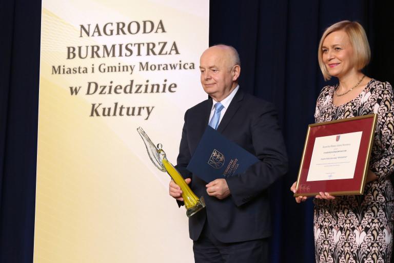 Nagrody Burmistrza Miasta i Gminy Morawica w dziedzinie kultury wręczone