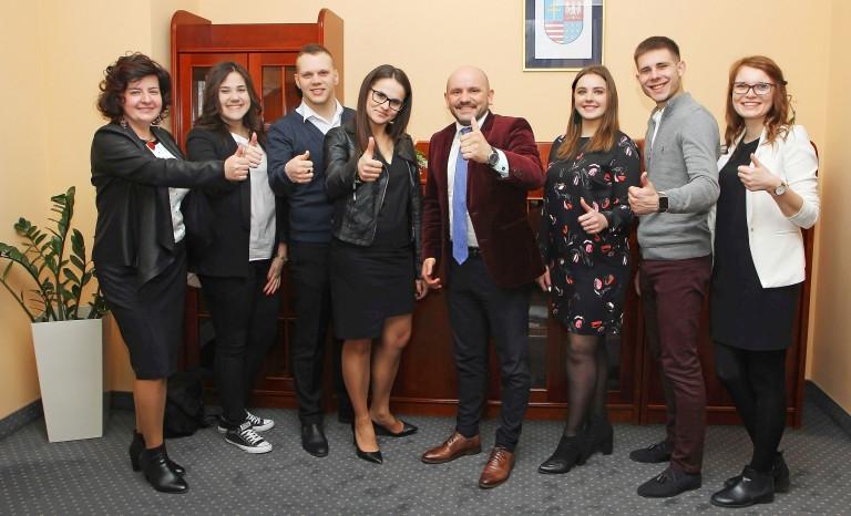 Delegacja Ukraińskiej Republiki Studenckiej odwiedziła Urząd Marszałkowski