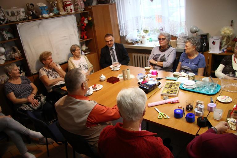 Samorząd – to my, wszyscy mieszkańcy. Spotkanie z kieleckimi seniorami