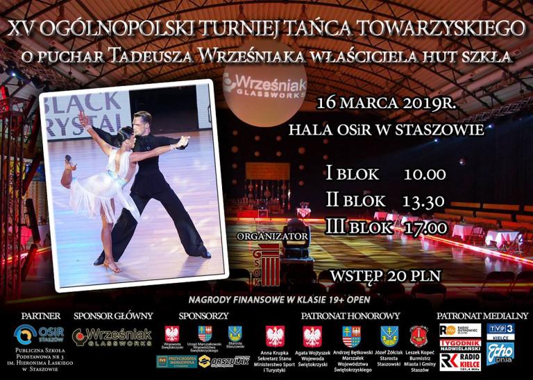 Taneczne zmagania w Staszowie