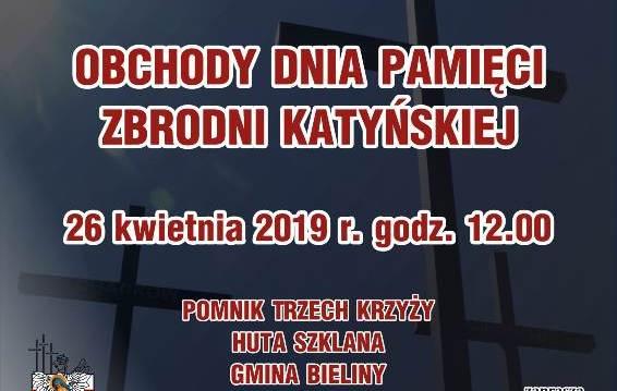 Plakat Katyń