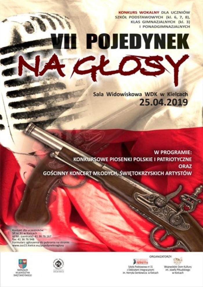 Pojedynek na głosy w Wojewódzkim Domu Kultury w Kielcach