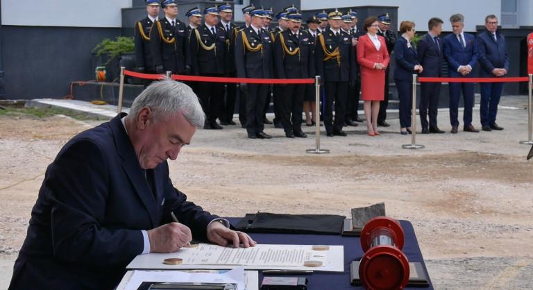 Strażacy świętowali w Kielcach