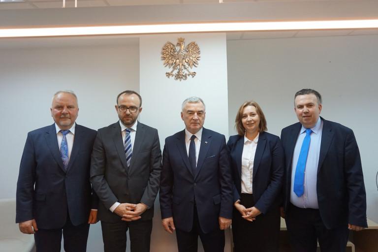 Świętokrzyska delegacja spotkała się z Konsulem Generalnym RP w Winnicy oraz miejscową Polonią