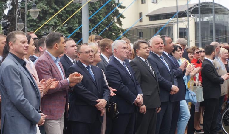 Marszałek na Dniach Europy w Winnicy