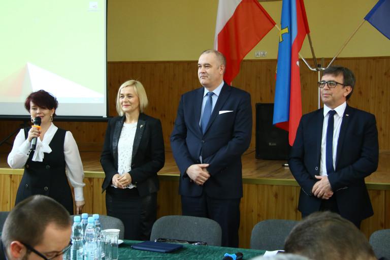 Spotkanie z przedsiębiorcami z powiatu włoszczowskiego
