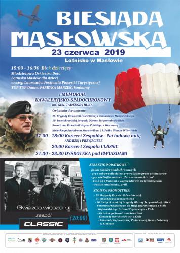 Biesiada Masłowska Plakat Ost.2