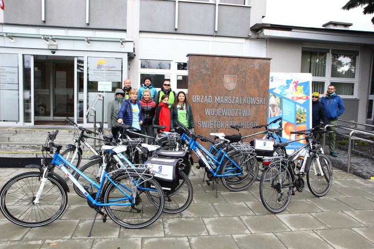 """II rajd rowerowy """"Fundusze Europejskie na szlaku Green Velo"""""""
