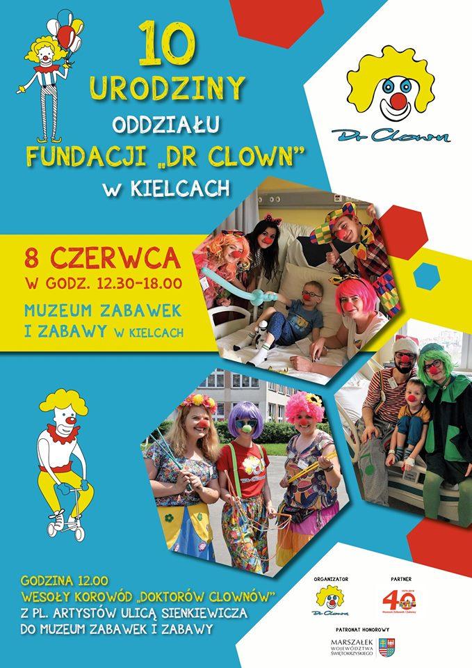 Jubileusz Fundacji Dr Clown w Kielcach