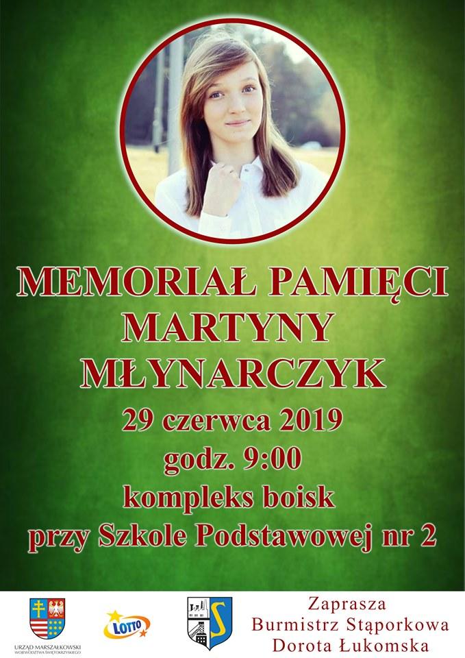 Memoriał Pamięci Martyny Młynarczyk