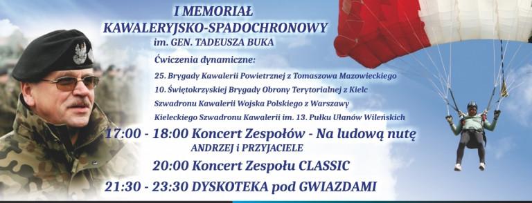 W Masłowie będą wspominać gen. Tadeusza Buka
