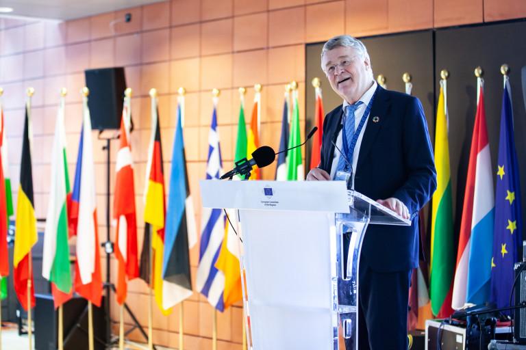 Uroczystość z okazji 15-lecia członkostwa Polski w Unii Europejskiej. Spotkanie w Komitecie Regionów w Brukseli