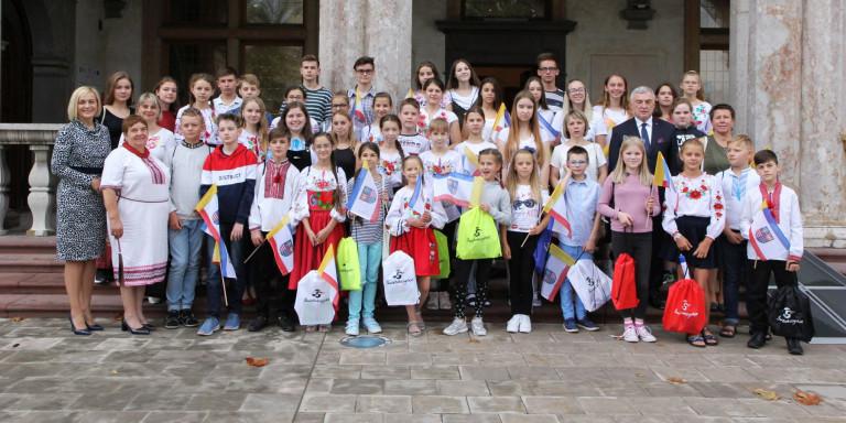 Młodzi Polacy z Białorusi i Ukrainy w Świętokrzyskiem