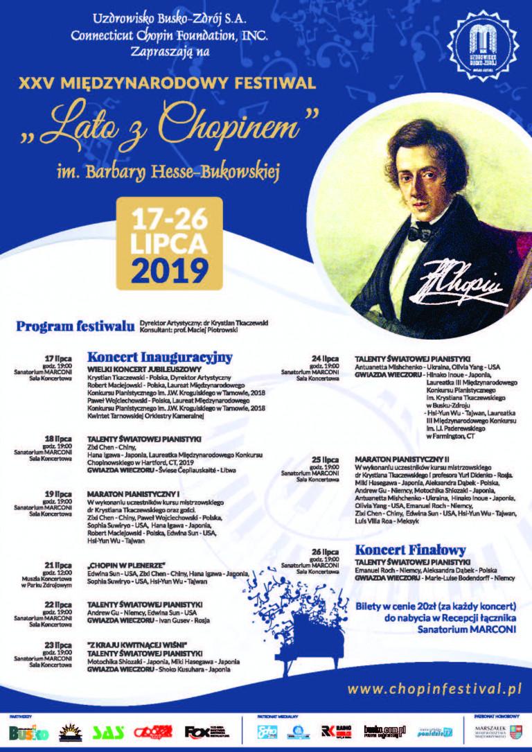 Jubileuszowe Lato z Chopinem w Busku-Zdroju