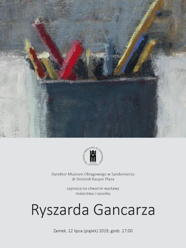 Spuścizna artystyczna Ryszarda Gancarza w Muzeum Okręgowym w Sandomierzu