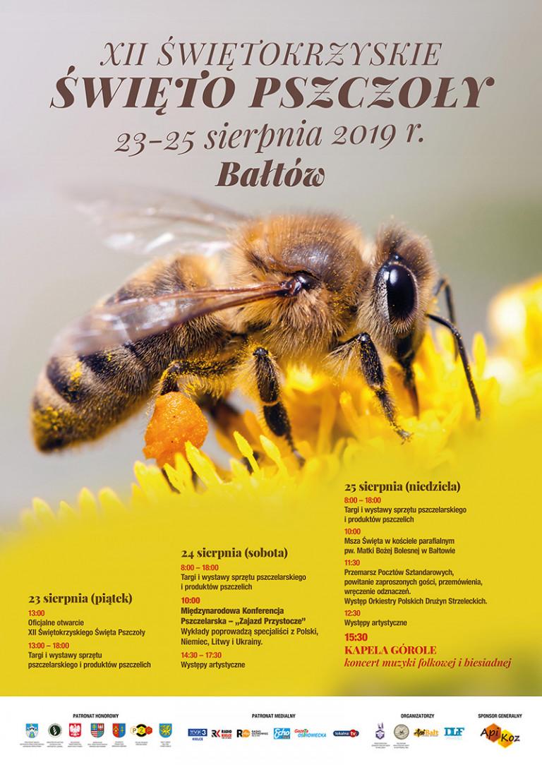 Doroczne święto pszczelarzy odbędzie się w Bałtowie