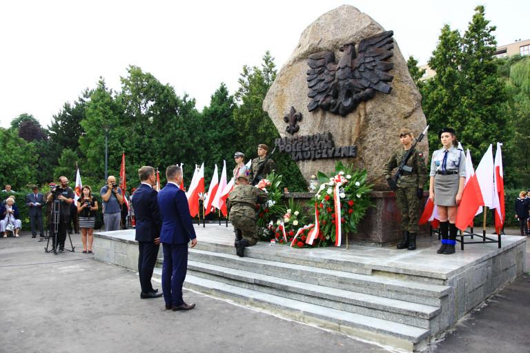 Kielczanie oddali cześć uczestnikom powstania 1944