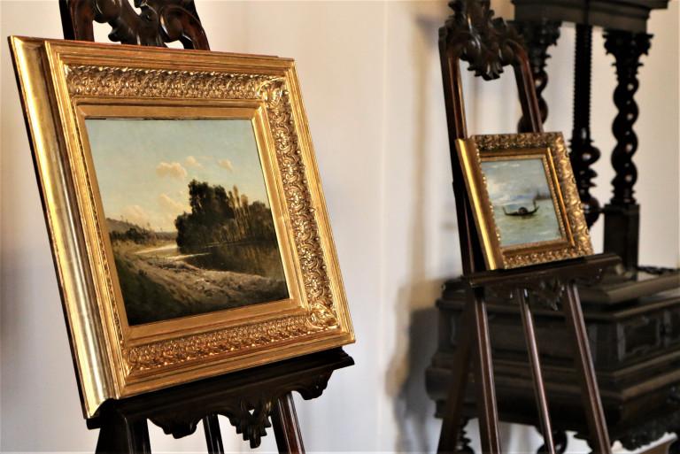 Unikatowy obraz pędzla Sienkiewicza i dzieło Szermentowskiego  – nowości w kolekcji Muzeum Narodowego w Kielcach