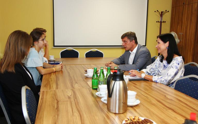 Przewodniczący Sejmiku spotkał się z młodzieżowymi radnymi