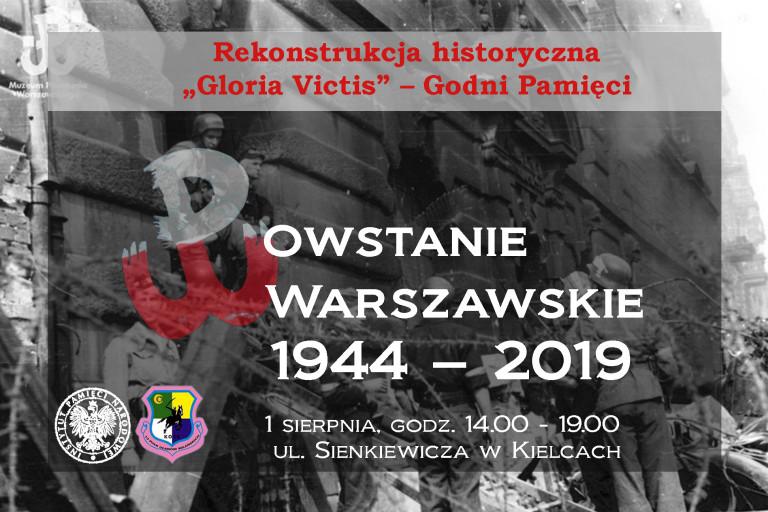 Uczcimy 75. rocznicę wybuchu powstania warszawskiego