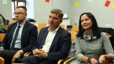 Liderzy dla młodzieży projekt spotkanie z przewodniczącym Sejmiku Andrzejem Prusiem