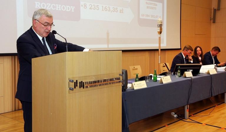 Na sesji Sejmiku o dobrym budżecie i statucie województwa