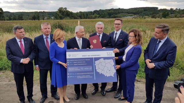 75 mln zł dla Starachowic na budowę estakady nad Kamienną