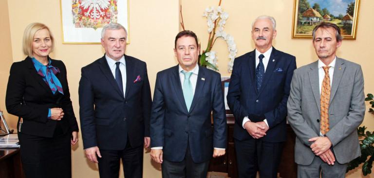 Z ambasadorem Hiszpanii o współpracy na polu kultury, edukacji i gospodarki