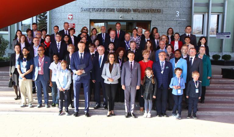 Ambasadorowie z wizytą w Świętokrzyskiem