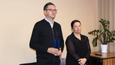 kierownik kina Fenomen Jarosław Skulski i dyrektor Departamentu Kultury i Dziedzictwa Narodowego Urzędu Marszałkowskiego Magdalena Kusztal